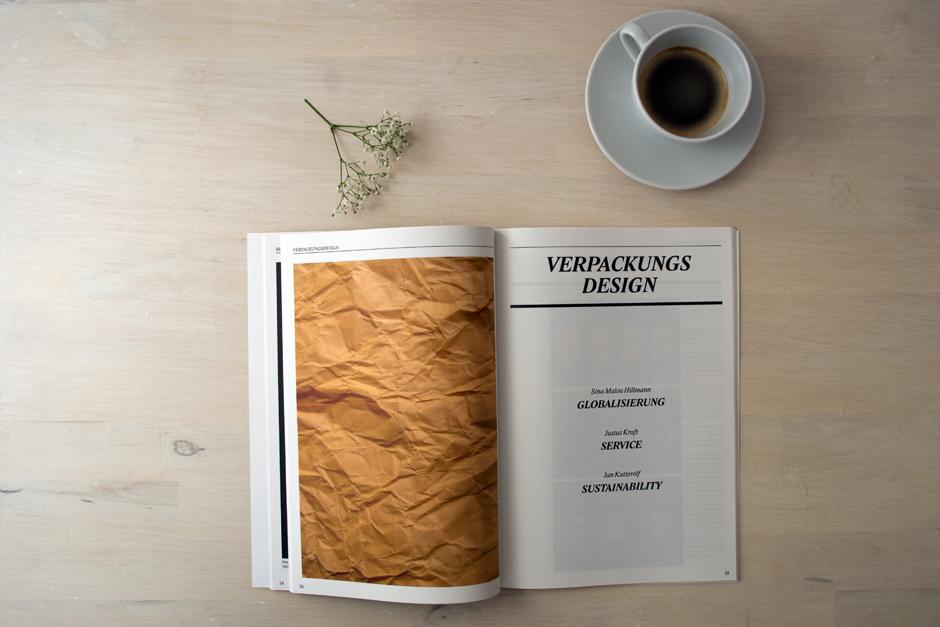 Design hoch drei - Kapitelseite