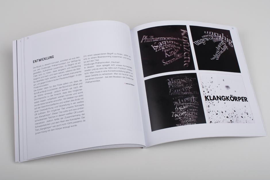 """Booklet des studentischen Projekts  """"Hautnah""""."""