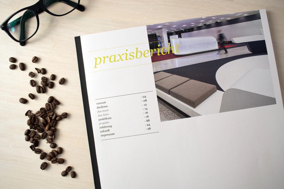 Praxisbericht - Inhaltsverzeichnis